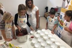 Děti v kuchyni vítány
