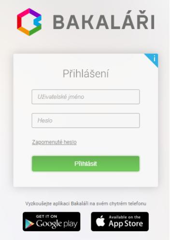Bakalari app