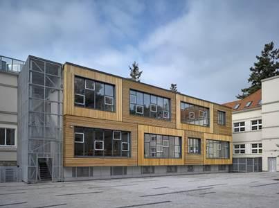 přístavba školy